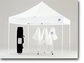 10 x 10 EZ POP UP Canopy NO SIDEWALLS - GolfandSports.com